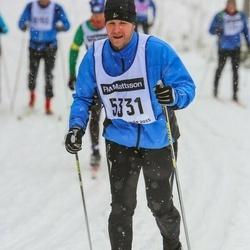Skiing 90 km - Mikael Ejdersund (5331)