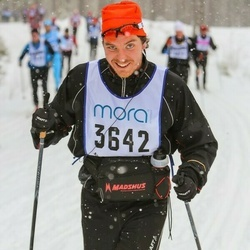 Skiing 90 km - David Lundevall (3642)