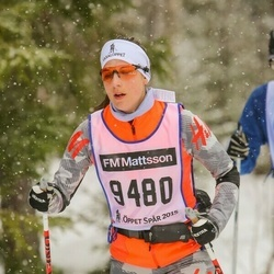Skiing 90 km - Sofia Petersson (9480)