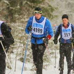 Skiing 90 km - Henrik Rönnholm (4199)