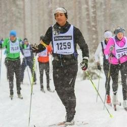 Skiing 90 km - Carl Sjöström (1259)
