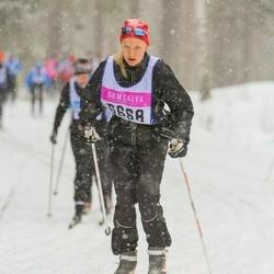 Skiing 90 km - Erika Alvestrand (6668)