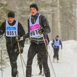 Skiing 90 km - Erik Öhlén (8617)