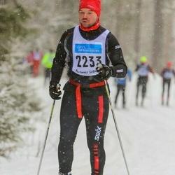 Skiing 90 km - David Tihane Heeringson (2233)