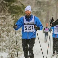 Skiing 90 km - Anders Löfving (5197)