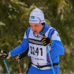 Skiing 90 km - Daniel Malmström (9241)