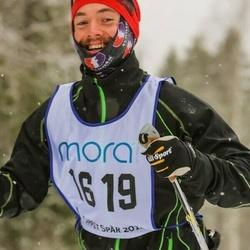 Skiing 90 km - Niclas Nygren (1619)