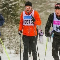 Skiing 90 km - Frederik Fahrenholtz (6076)