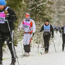 Skiing 90 km - Anders Strand (6501)