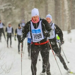 Skiing 90 km - Johan Andersson (2099)