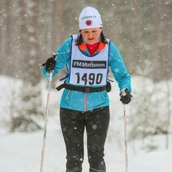 Skiing 90 km - Catharina Kransholm (1490)