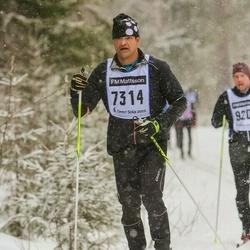 Skiing 90 km - Leif Moutou (7314)