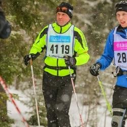 Skiing 90 km - Henrik Nilsson (4119)