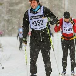 Skiing 90 km - Björn Ollars (9352)