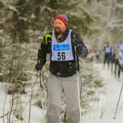 Skiing 90 km - Henrik Andersson (56)