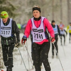 Skiing 90 km - Ella Lundström (7161)