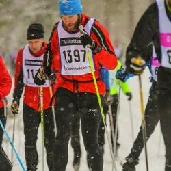 Skiing 90 km - Janne West (1397)