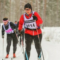 Skiing 90 km - Camilla Lindström (5014)