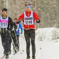 Skiing 90 km - Hugo Birgersson (3148)