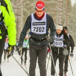Skiing 90 km - Björn Andersson (7302)