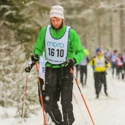 Skiing 90 km - Henrik Kolk (1610)