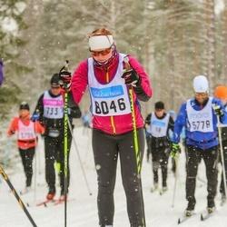 Skiing 90 km - Caroline Bjurman (8046)
