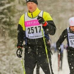 Skiing 90 km - Carl Johan Andhill (2517)