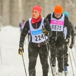 Skiing 90 km - Jenny Isaksson (224)