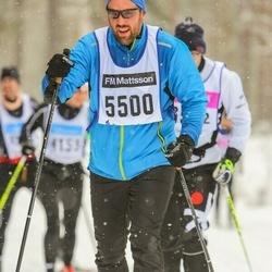 Skiing 90 km - Stefan Kruse (5500)