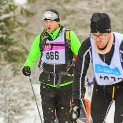 Skiing 90 km - Henrik Jonsson (666)