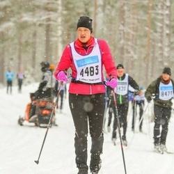 Skiing 90 km - Paula Sundqvist (4483)