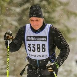 Skiing 90 km - Tomas Ulander (3386)