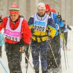 Skiing 90 km - Håkan Andersson (8209)
