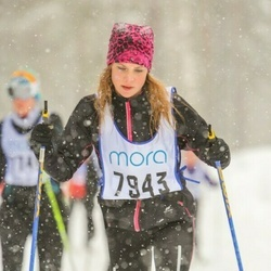Skiing 90 km - Sara Meidell (7943)