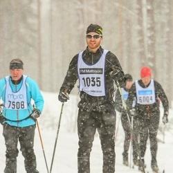 Skiing 90 km - Anders Sjögren (1035)