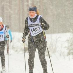 Skiing 90 km - Madelene Carlsson (3402)