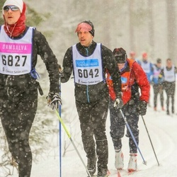 Skiing 90 km - Gustaf Karlsson (6042)
