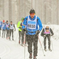Skiing 90 km - Thomas Lagefjäll (8030)