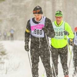 Skiing 90 km - André Johansson (2980)