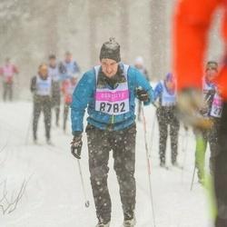 Skiing 90 km - Henrik Almgren (8782)