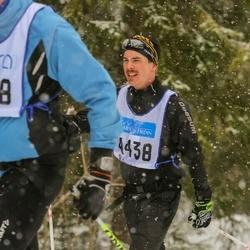 Skiing 90 km - Jonas Larsson (4438)