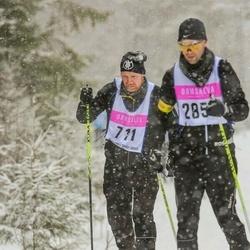 Skiing 90 km - Henrik Lysemark (711)
