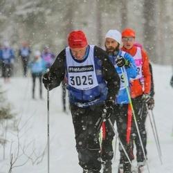 Skiing 90 km - Hans Ekman (3025)