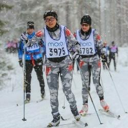 Skiing 90 km - Anna Agermark (3975)