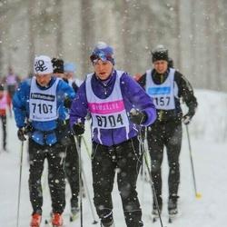 Skiing 90 km - Lisa Danielsson (8704)