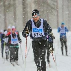 Skiing 90 km - Christoffer Berggren (6354)