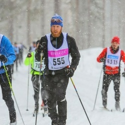 Skiing 90 km - Anders Lundholm (555)
