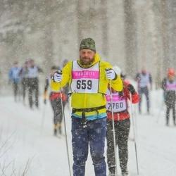 Skiing 90 km - Henrik Thyselius (659)