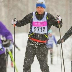 Skiing 90 km - Anders Delander (8712)