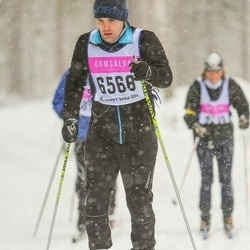 Skiing 90 km - Daniel Lindberg (6568)